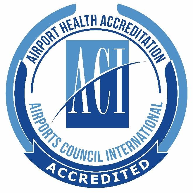 Airports Council International (ACI) — Airport Health Accreditation logo