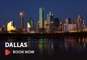 Book a flight to Dallas