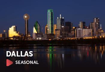 Non-stop Flights to Dallas (DFW)