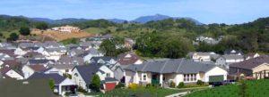 Photo of a neighborhood surrounding STS