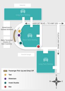 STS Ground Transportation Location Map