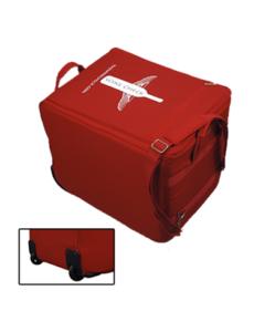Image of a Wine Check wheeled luggage bag
