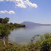 Clear Lake in Lake County, California.
